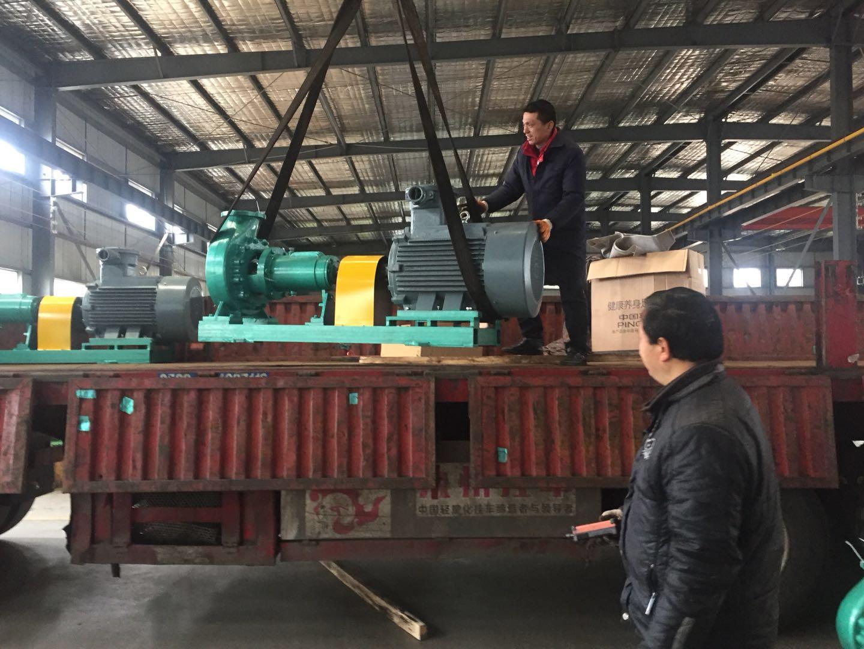 安徽腾龙泵阀20台IHF150-125-315氟塑料离心泵发货