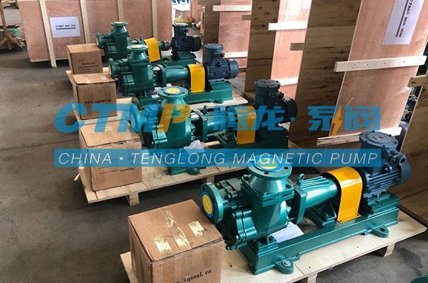 腾龙50FZB-30L氟塑料自吸离心泵出口印尼