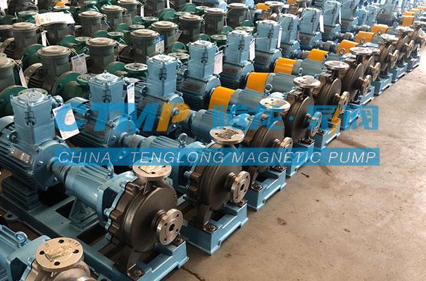 腾龙定制款耐磨不锈钢CD4MU离心泵发货