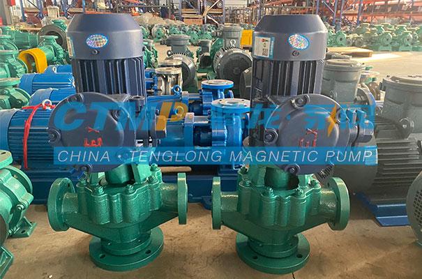 腾龙一批氟塑料管道泵发往无锡先导智能装备