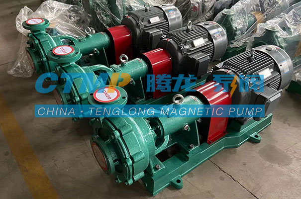 腾龙UHB-ZK耐腐耐磨砂浆泵发往山东百科环境