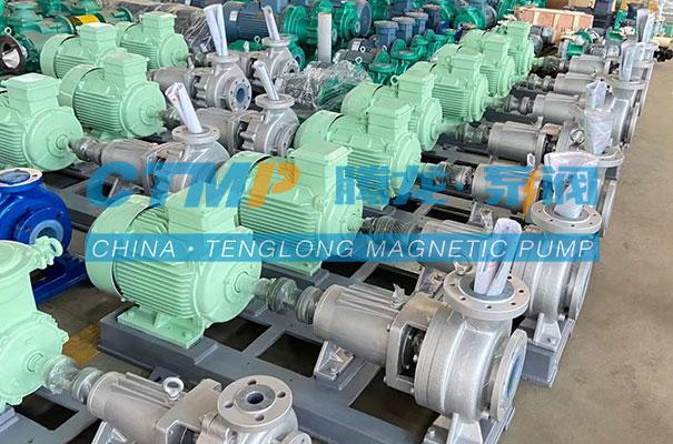 腾龙一批IHF氟塑料离心泵发往临沂金能新材料