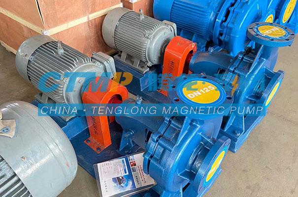 腾龙IS清水离心泵发往西安汇丰源环保