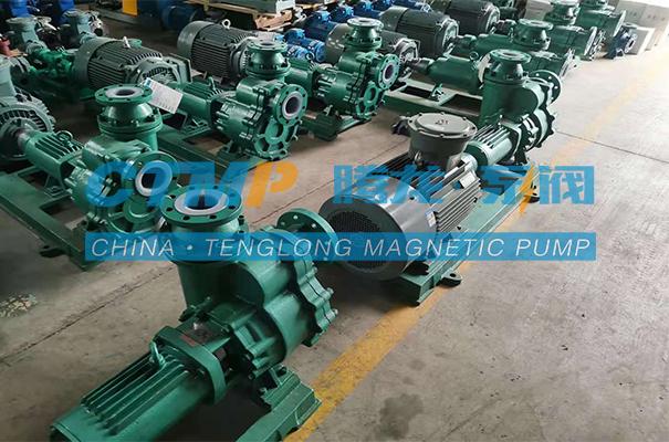 腾龙一批FZB氟塑料离心自吸泵发往陕西东鑫垣化工