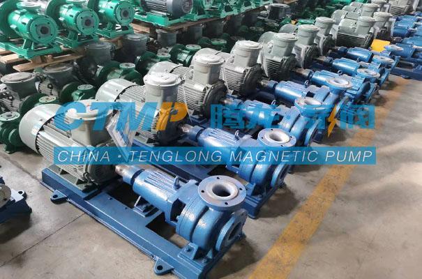腾龙一批三级吸收泵发往葫芦岛锌业股份有限公司