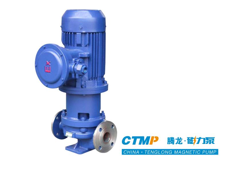 不锈钢立式磁力管道泵