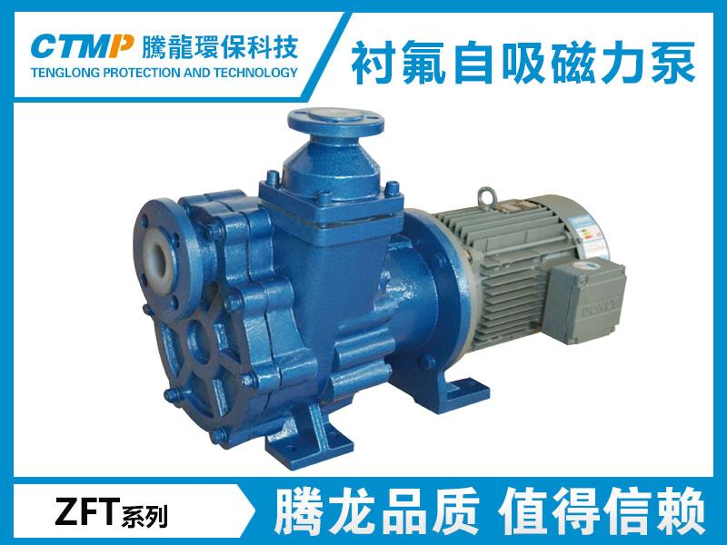 ZFT氟塑料自吸磁力泵